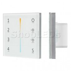 Панель Sens SMART-P38-MIX White (230V, 4 зоны, 2.4G)