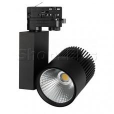 Светильник LGD-ARES-4TR-R100-40W Warm3000 (BK, 24 deg)