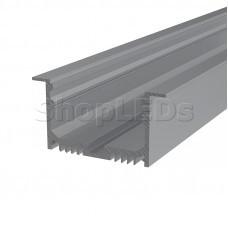 Профиль врезной алюминиевый 6332-2 2 м REXANT