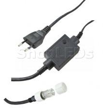 Контроллер 340W, 4 выхода, 8 программ 3W для подключения 4-х сеток серии 215-0..