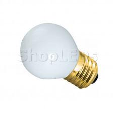 Лампа накаливания e27 10 Вт белая колба