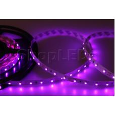 LED лента открытая, 8 мм, IP23, SMD 2835, 60 LED/m, 12 V, цвет свечения розовый