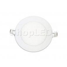 Светодиодная панель BRL-T-150-9W (белый круг, 9W, 150x12mm) (белый 6000K)