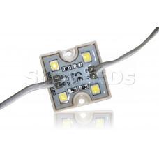 Светодиодный модуль герметичный SL-5050-4 LED (80Lm, 1W, 12V)