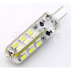Светодиодная лампа DL12-G4-2W  (12V, 2W, 130 lm) (теплый белый 3000K)