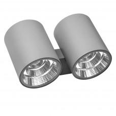 372592 Светильник PARO LED 2*2*15W 4700LM 15G серый 3000K IP65 (в комплекте)